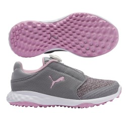 ZAPATOS PUMA JR GRIP DISCO ROSA