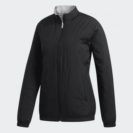 CHAQUETA ADIDAS REVERSIBLE QUILTED NEGRO/GRIS